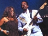 Lyrica (vocalist) performing with Ike Turner