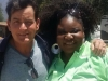 Charlie Sheen and Pam (Gospel Choir)