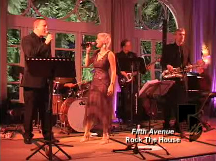 Rock the house fifth avenue entertainment wedding for House music bands