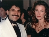 Band leader David with Jane Seymour