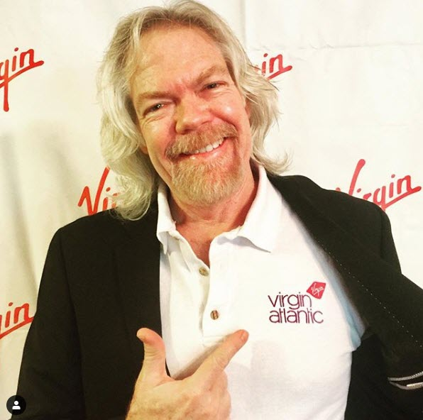 Richard Branson impersonator