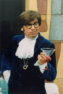 Austin Powers impersonator