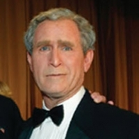 George Bush impersonator