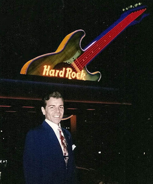 Vaughn at The Hard Rock - Las Vegas