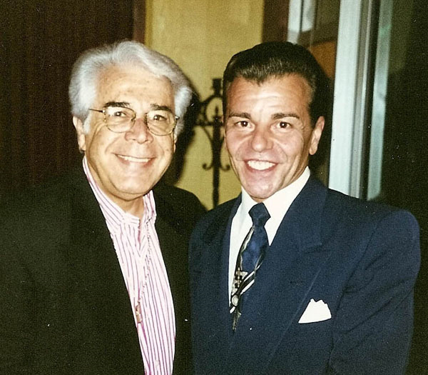 Vaughn with Jerry Vale