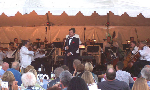 Vaughn with The Capistrano Valley Symphony