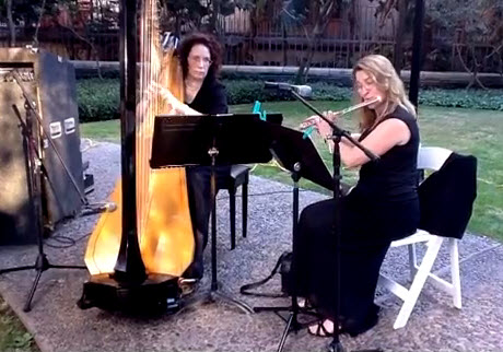 Harp and Flute Duo