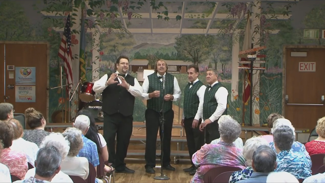 Barbershop Quartet video